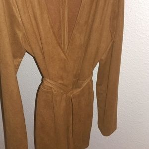 Plunge Romper with Bell Sleeve